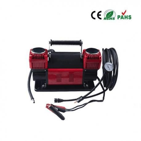 Compresor de aire portátil 12V y 300L/min para neumáticos