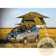 Tienda techo coche plegable 4 personas Kalahari Classic tienda campaña