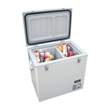 Nevera portátil con congelador 12V para camping y autocaravana