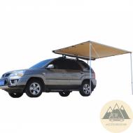 Toldo universal extensible para coches y furgonetas